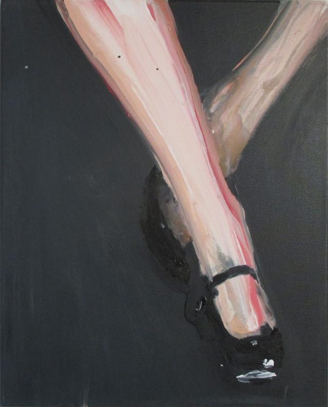 dangling, schilderij door Lilian Eliens